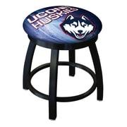 Holland Bar Stool NCAA Swivel Bar Stool; Connecticut Huskies