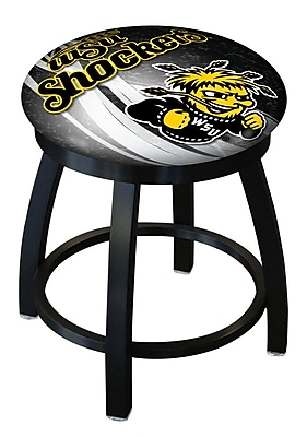Holland Bar Stool NCAA Swivel Bar Stool; Wichita State Shockers WYF078279775239