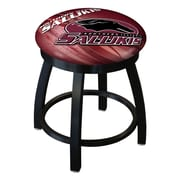 Holland Bar Stool NCAA Swivel Bar Stool; Southern Illinois Salukis