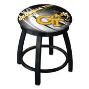 Holland Bar Stool NCAA Swivel Bar Stool; Georgia Tech Yellow Jackets