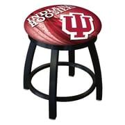 Holland Bar Stool NCAA Swivel Bar Stool; Indiana Hoosiers