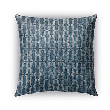 Kavka Como Burlap Indoor/Outdoor Throw Pillow; 26'' H x 26'' W x 5'' D
