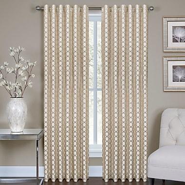 Homewear Linens Ringo Single Curtain Panel; 54'' W x 84'' L