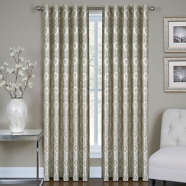 Homewear Linens Vegas Single Curtain Panel; 54'' W x 63'' L