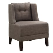 Infini Furnishings Rodolph Wingback Chair; Brown