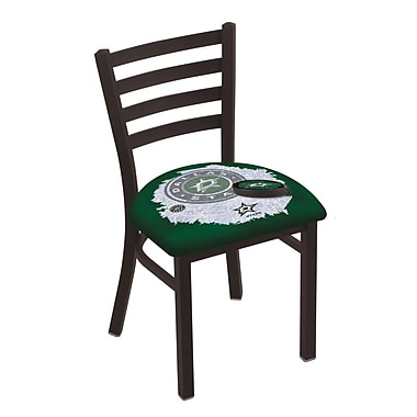 Holland Bar Stool NHL Stationary Side Chair; Dallas Stars