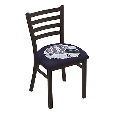 Holland Bar Stool NHL Stationary Side Chair; Tampa Bay Lightning
