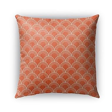 Kavka Modena Burlap Indoor/Outdoor Throw Pillow; 16'' H x 16'' W x 5'' D