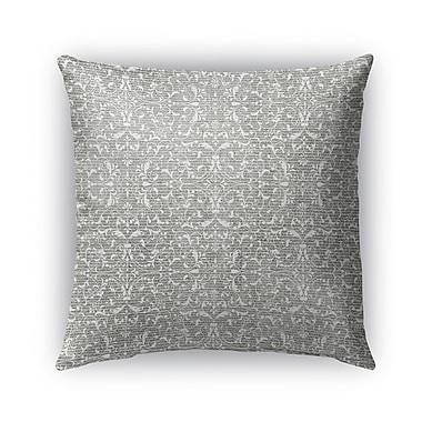 Kavka Pamplona Burlap Indoor/Outdoor Throw Pillow; 18'' H x 18'' W x 5'' D