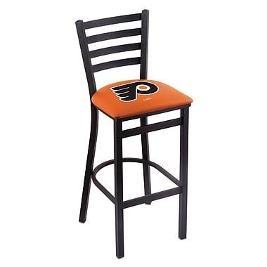 Holland Bar Stool NHL Bar Stool w/ Cushion; Philadelphia Flyers - Orange