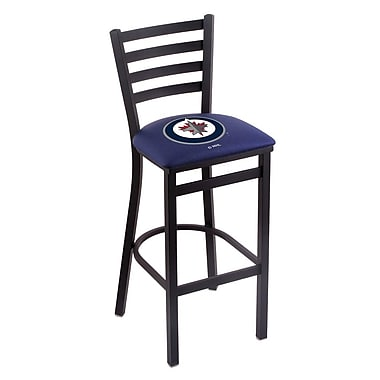 Holland Bar Stool NHL Bar Stool w/ Cushion; Winnipeg Jets