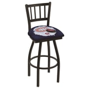Holland Bar Stool NHL Swivel Bar Stool w/ Cushion; Montreal Canadiens