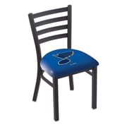 Holland Bar Stool NHL Stationary Side Chair; St Louis Blues