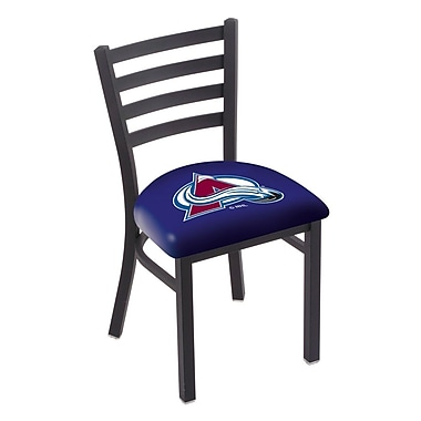 Holland Bar Stool NHL Stationary Side Chair; Colorado Avalanche