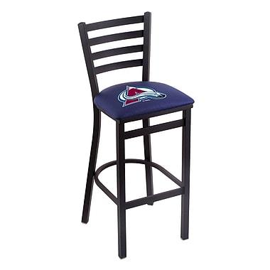 Holland Bar Stool NHL Bar Stool w/ Cushion; Colorado Avalanche