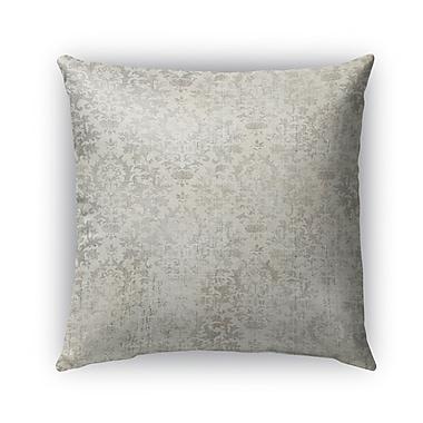 Kavka Capri Burlap Indoor/Outdoor Throw Pillow; 26'' H x 26'' W x 5'' D