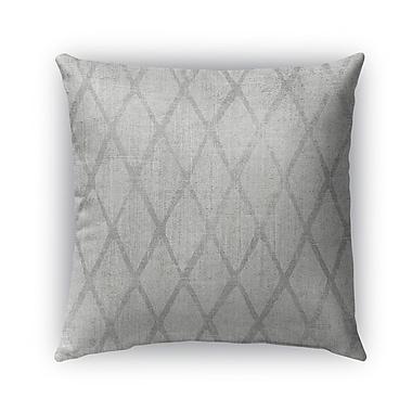 Kavka Carpi Burlap Indoor/Outdoor Throw Pillow; 16'' H x 16'' W x 5'' D