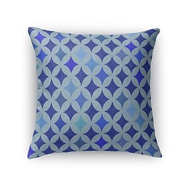 Kavka Large Diamond Burlap Indoor/Outdoor Throw Pillow; 26'' H x 26'' W x 5'' D