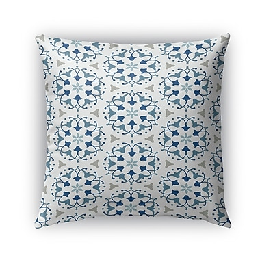 Kavka Kaleidoscope Burlap Indoor/Outdoor Throw Pillow; 26'' H x 26'' W x 5'' D