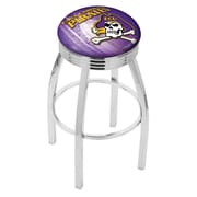 Holland Bar Stool NCAA 25'' Swivel Bar Stool w/ Cushion; East Carolina Pirates