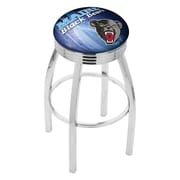 Holland Bar Stool NCAA 30'' Swivel Bar Stool w/ Cushion; Maine Black Bears