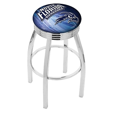Holland Bar Stool NCAA 30'' Swivel Bar Stool w/ Cushion; North Florida Ospreys