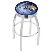 Holland Bar Stool NCAA 25'' Swivel Bar Stool w/ Cushion; Montana State Bobcats