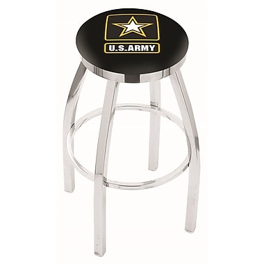 Holland Bar Stool 25'' Swivel Bar Stool; Army