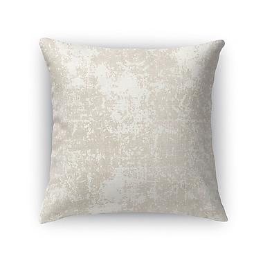 Kavka Ravenna Burlap Throw Pillow; 18'' H x 18'' W x 5'' D