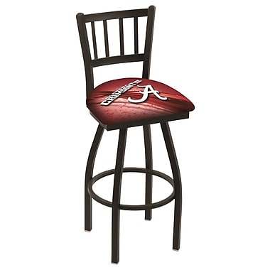 Holland Bar Stool NCAA 25'' Swivel Bar Stool; Wright State