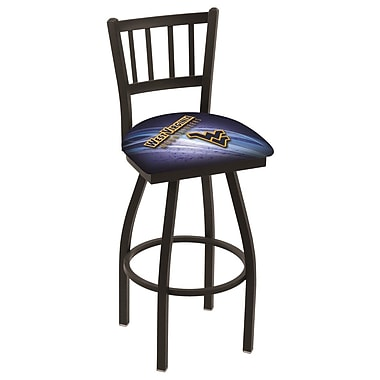 Holland Bar Stool NCAA 36'' Swivel Bar Stool; West Virginia