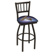 Holland Bar Stool NCAA 25'' Swivel Bar Stool; West Virginia