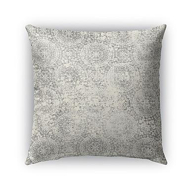 Kavka Syracuse Burlap Indoor/Outdoor Throw Pillow; 26'' H x 26'' W x 5'' D