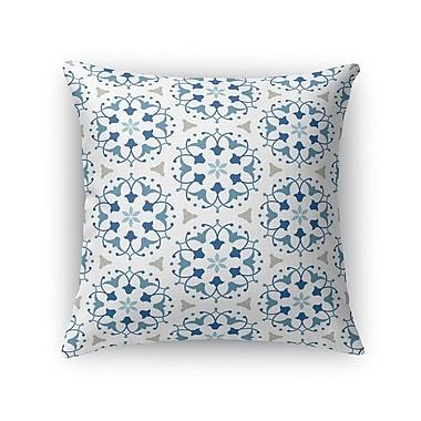 Kavka Kaleidoscope Burlap Throw Pillow; 18'' H x 18'' W x 5'' D