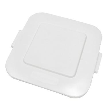 Rubbermaid – Couvercle carré blanc BRUTEMD, 24 x 2 haut. (po), pour les modèles 3536G W & Y (FG353900WHT)