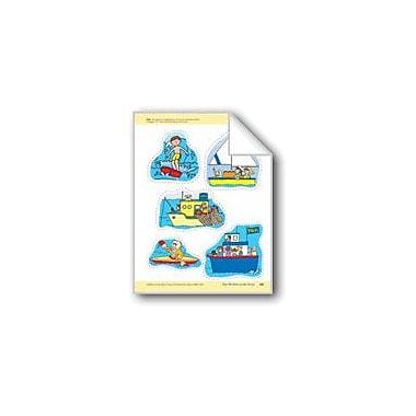 Evan-Moor Educational Publishers How We Move On The Ocean: Storyboard Pieces Workbook, Preschool - Kindergarten [eBook]