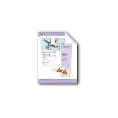 Evan-Moor Educational Publishers Rainforest Puzzles Workbook, Preschool - Kindergarten [eBook]
