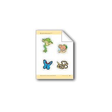 Evan-Moor Educational Publishers Rainforest Animals: Storyboard Pieces Workbook, Preschool - Kindergarten [eBook]