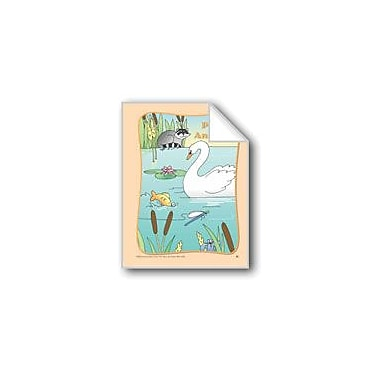 Evan-Moor Educational Publishers Pond Animals: Circle-Time Book Workbook, Preschool - Kindergarten [eBook]
