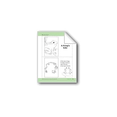 Evan-Moor Educational Publishers A Frog's Life: Take-Home Book Workbook, Preschool - Kindergarten [eBook]