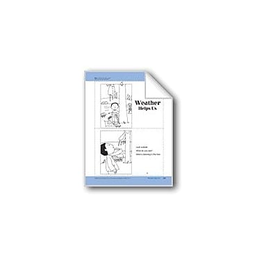 Evan-Moor Educational Publishers Weather Helps Us: Take-Home Book Workbook, Preschool - Kindergarten [eBook]