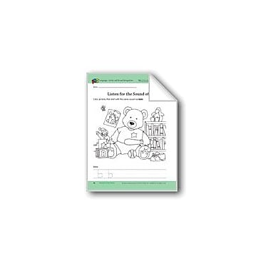 Evan-Moor Educational Publishers Animals Of The Forest: Language And Math Skills Workbook, Preschool - Kindergarten [eBook]
