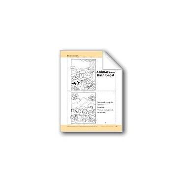 Evan-Moor Educational Publishers Animals Of The Rainforest: Take-Home Book Workbook, Preschool - Kindergarten [eBook]