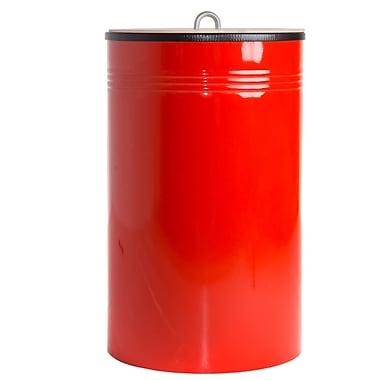 NestedNY Recycling Bin; Red