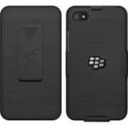 Amzer® Shellster AMZ97575 Polycarbonate Shell Case/Holster for BlackBerry Z30, Black