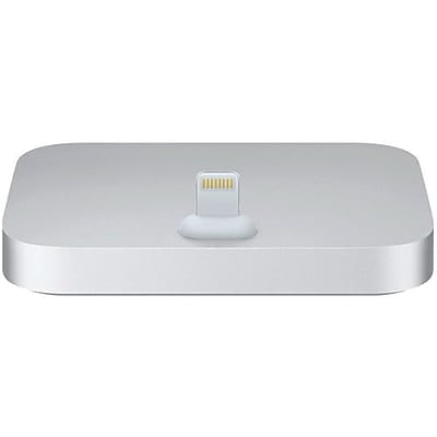 Apple ML8J2AM/A Lightning Dock for iPhone/iPod, Silver