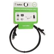 Belkin® F2CP010-03WM-CS 3' Black Cat5e Cable Network Cable