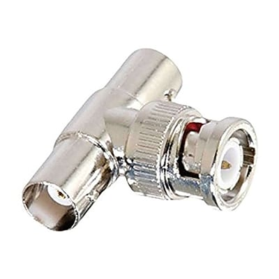 C2G® 02047 Silver 50-Ohm BNC T-Adapter