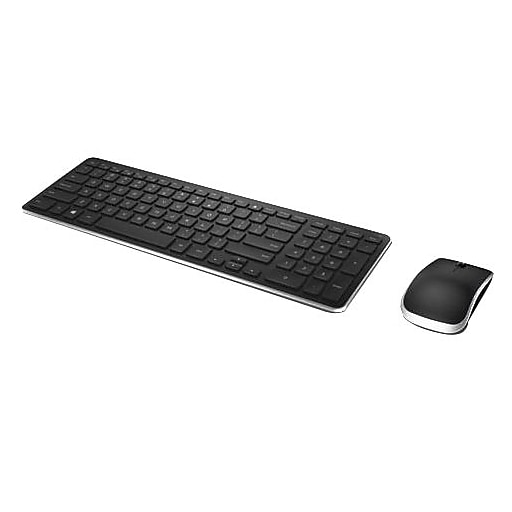 dell laser wireless keyboard and mouse combo black km714 staples. Black Bedroom Furniture Sets. Home Design Ideas