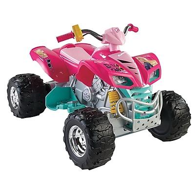 Fisher-Price Power Wheels Barbie Kawasaki KFX All-Terrain